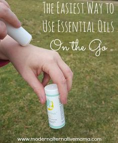 The Easiest Way to Use Essential Oils On the Go - Modern Alternative Mama