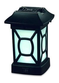 The ThermaCELL Mosquito Repellent Patio Lantern (about $20 at The Home Depot) keeps mosquitoes, no-see-ums and black flies away within a 225-square-foot area. The lantern runs on batteries, so there's no worry about having to plug them in.