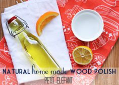 home made wood polish