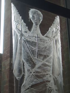 Angel, Coventry Cathedral UK by Aidan McRae Thomson Flickr Coventry Cathedral, Textile Art, Stained Glass, Art Ideas, Abstract Art, England, Textiles, Angel, Memories