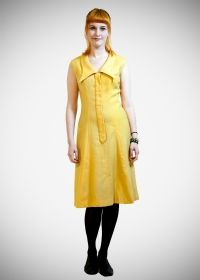 Original 1960s Susan Small Yellow Wool Size 12 Dress just £45 from Upstaged Vintage