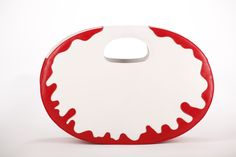 You are Pure Red Oval Bag