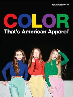 American Apparel | Fashionable Basics. Sweatshop Free. Made in USA.