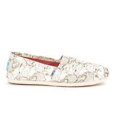 Look at this TOMS Voyage Map Canvas Classics on #zulily today!