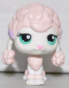 Poodle #152 (Pink) Littlest Pet Shop (Retired) Collector Toy - LPS Collectible Replacement Single Figure - Loose (OOP Out of Package & Print) Littlest Pet Shop http://www.amazon.com/dp/B00C4YI3PO/ref=cm_sw_r_pi_dp_KEVPtb1ZHYPNYXSP