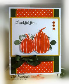 Fall Fest Thanksgiving Card by: Me, My Stamps and I