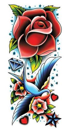 rose-and-sparrow-fake-tattoo-sleeve.jpeg 292×544 pixels