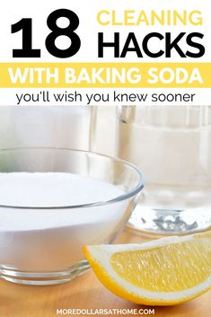 cleaning hacks tips and tricks Clean your entire house with baking soda. 18 tips and tricks for cleaning your household. Use for odor control, make this air freshener recipe and more baking soda hacks. Borax Cleaning, Baking Soda Cleaning, Baking Soda Uses, Household Cleaning Tips, House Cleaning Tips, Clean House Tips, Bathroom Cleaning Hacks, Natural Cleaning Recipes, Natural Cleaning Products
