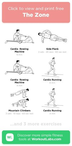 Free workout: The Zone – 55-min abs, cardio, legs exercise routine. Try it now or download as a printable PDF! Browse more training plans and create your own exercise programs with #WorkoutLabsFit · #AbsWorkout #CardioWorkout #LegsWorkout Don't need to go to the gym, just use your bodyweight and take a few minutes a day, 30 Day Weight Loss Challenge will greatly help to get a perfect bikini body! Ab Day Workout, 20 Min Workout, Leg Day Workouts, Free Workout, Ab Workout At Home, Easy Workouts, At Home Workouts, Workout Ideas, Cable Machine Workout