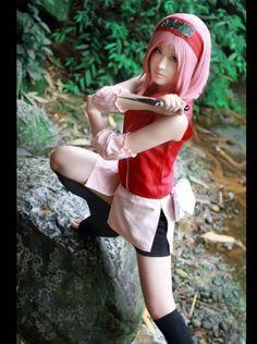 Haruno Sakura | Naruto #cosplay #anime