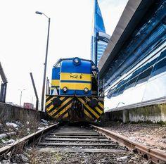 Estación de ferrocarriles Montevideo, forma parte del complejo Joaquín Torres García, (complejo de las Telecomunicaciones). Montevideo, Uruguay.
