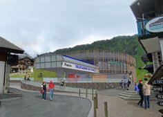 The future lift station at the bottom of Pleney Slope in Morzine