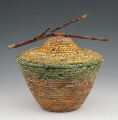 Bayou Quilts: Eccentric Figures and More Fabric Coiled Baskets