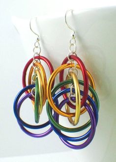 Rainbow Spiral Hoops Earrings Kit - Colorful, Easy and Perfect for the – Creating Unkamen