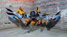Street art 3D par Odeith   street art 3d anamorphose illusion odeith 9