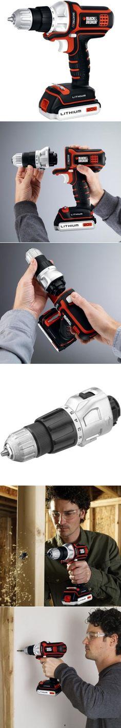 Black & Decker BDCDMT120 20-volt Matrix Drill