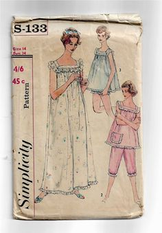 70s Romper Boho Victorian Vintage Sewing Pattern Skirt Prairie Camisole Knickers Complete with Instructions Pantaloons