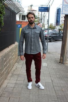 Evandro Pezzi - Calça Marsala