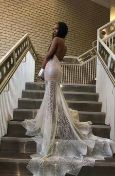 Sexy Halter V-neck Open Back White Prom Dress Mermaid Black Girls Graduation Party Dress 2018 Glitter Sequins Long Formal Pageant Dresses Court Train sold by hurrliprom on Storenvy Black Girl Prom Dresses, Senior Prom Dresses, Prom Outfits, Mermaid Prom Dresses, Girls Dresses, Unique Prom Dresses, Beauty Pageant Dresses, Dresses 2016, Sexy Dresses