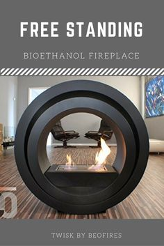 Here is another great design from Beo Fires, one of the best manufacturers of bioethanol fireplace on the market. The 'Twisk' Fireplace is precision engineered from Premium Grade Stainless Steel and High Temperature Matt Stealth Black Powder Coated Steel.  It has a Fully controllable burn rate and can be Fueled by any good quality  Bio Ethanol,