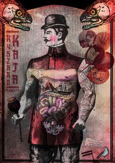 GREAT POLISH POSTERS SITE Ryszard Kaja Exhibition, Polish Poster