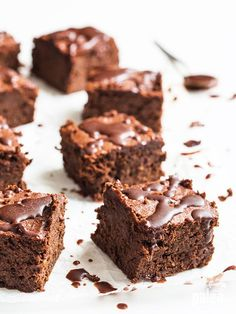 Dark, chocolatey, rich, chewy brownies. Made with sweet potato?! Yes! Sweet potato Paleo brownies!