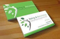 physiotherapist business card design australia - Google Search