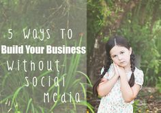 5 Ways To Build Your Photography Business Without Social Media - Photoshop Actions and Lightroom Presets Photography Editing, Photography Business, Photo Editing, Learn Photography, Photography Ideas, Business Inspiration, Business Ideas, Photo Tips, Photoshop Actions