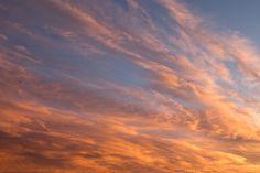 Beautiful sunset sky | by Terry Richardson