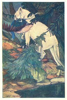 oldbookillustrations:  Charles Livingston Bull, Under the roof of the jungle, Boston, 1911. Via archive.org