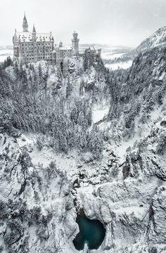 Neuschwanstein Winterland | by Geoffrey Gilson