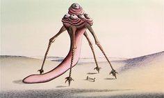 OcéanoMar - Art Site: Fantastic Planet / La Planète sauvage (1973) dir. René Laloux production design Roland Topor