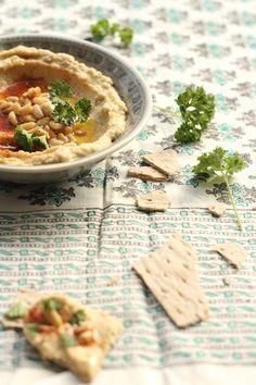 Haz el hummus, no la guerra – Receta básica de hummus