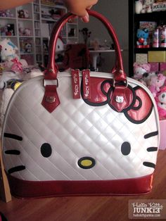 Hello Kitty Quilted Face Tote Bag by Loungefly Hello Kitty Bag 9cd0537723f9e