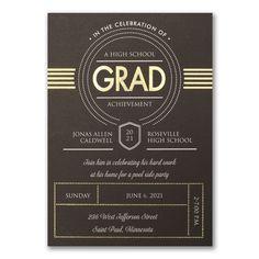 Grad Deco - Invitation
