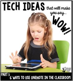 Part 1 of a series on technology in the classroom! The best part is you only need ONE device in your classroom for these ideas! Creekside Teacher Tales