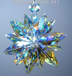 m/w Swarovski Crystal Sun Catcher Aurora by LilliHeartDesigns, $30.99