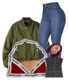 """Untitled #2914"" by alisha-caprise ❤ liked on Polyvore featuring Timberland"