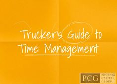Clock time versus real time; every truck driver needs to be able to handle both!
