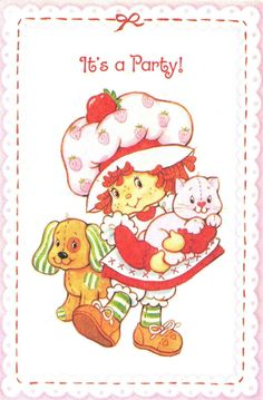 vintage strawberry shortcake pictures - Google Search