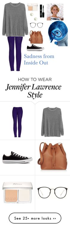 """Sadness from Inside Out"" by charbear231 on Polyvore"