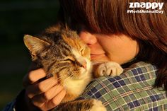 Happy WorldAnimalDay! We are celebrating the highest form of unconditional love.  What's your favourite animal?
