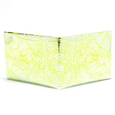 Walart The Fractal Wallet (Yellow). Was $14.95, Now $8.50