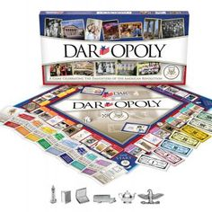 DARopoly - How have they not thought of this before now? Definitely buying this for myself. Daughters of the American Revolution