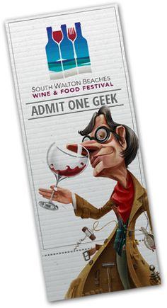 South Walton Beaches Wine & Food Festival : April 25th - 28th