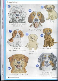 Thrilling Designing Your Own Cross Stitch Embroidery Patterns Ideas. Exhilarating Designing Your Own Cross Stitch Embroidery Patterns Ideas. Mini Cross Stitch, Cross Stitch Animals, Cross Stitch Charts, Cross Stitch Designs, Cross Stitch Patterns, Cross Stitching, Cross Stitch Embroidery, Embroidery Patterns, Dog Chart