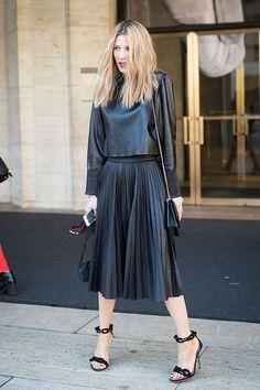 Adi Heyman Stylist and Blogger  www.fabologie.com Outfit: BCBG Shoes: Balenciaga