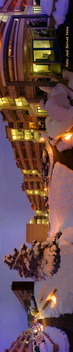 Emmaplein in de sneeuw, Zeist -panorama-
