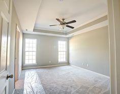 Master Bedroom w/Trey & Crown  New Home  Huntsville, AL  CircaHomes.com