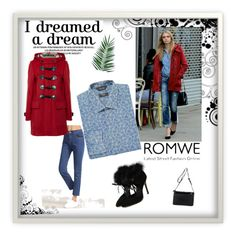 """Romwe 18"" by zerina913 ❤ liked on Polyvore featuring Burberry, Paul Smith, Nika, men's fashion, menswear and romwe"